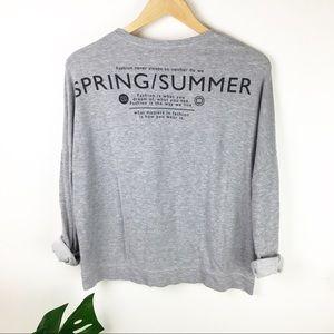 Zara Trf | Terry knit top